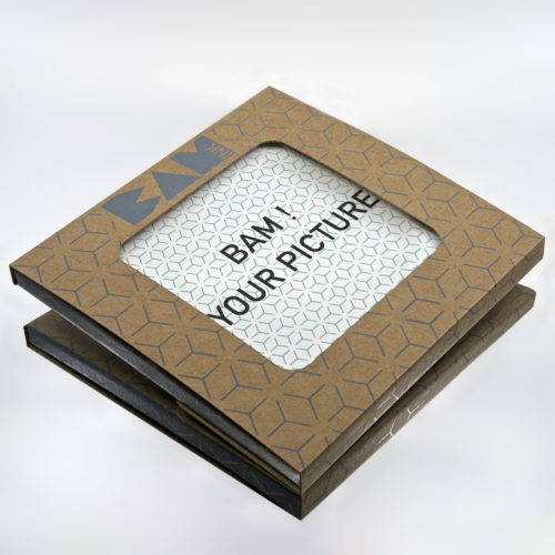 customizable trivet ceramic on white background with packaging