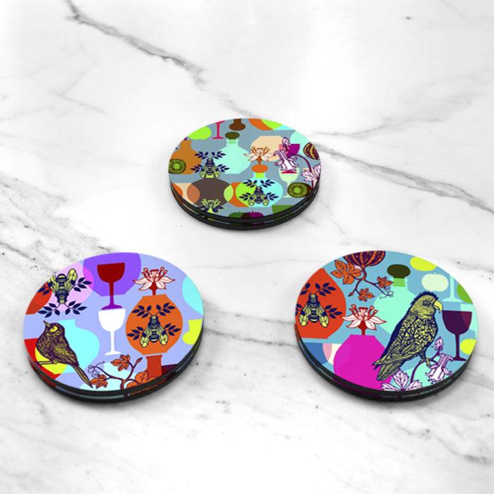 BAMink-Michaël Cailloux-Déjeuner-sur-l'herbe-I-coasters