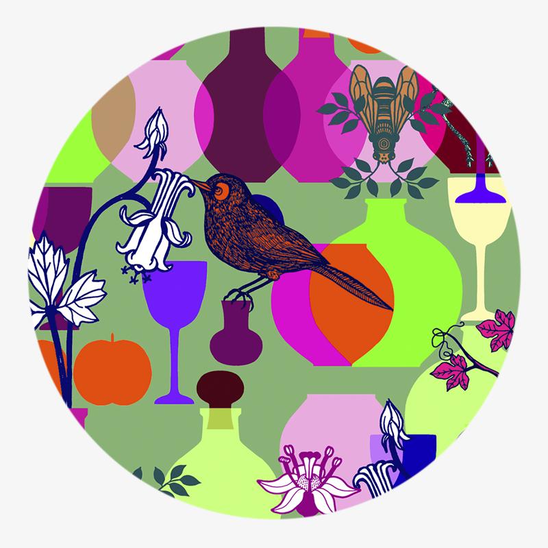 Visuel 01 de la collection Déjeuner sur l'herbe II coaster-visual