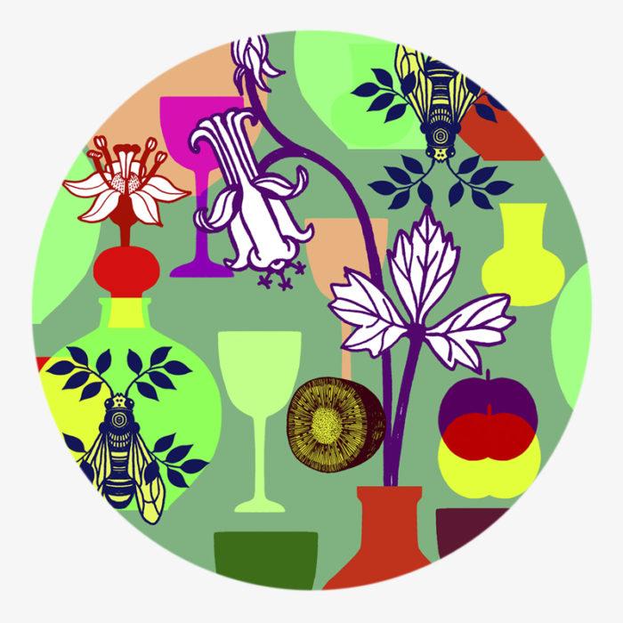 Visuel 03 de la collection Déjeuner sur l'herbe II - coaster visual 03