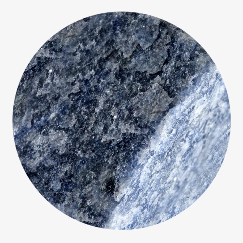 Visuel 01 de la collection Quartz bleu