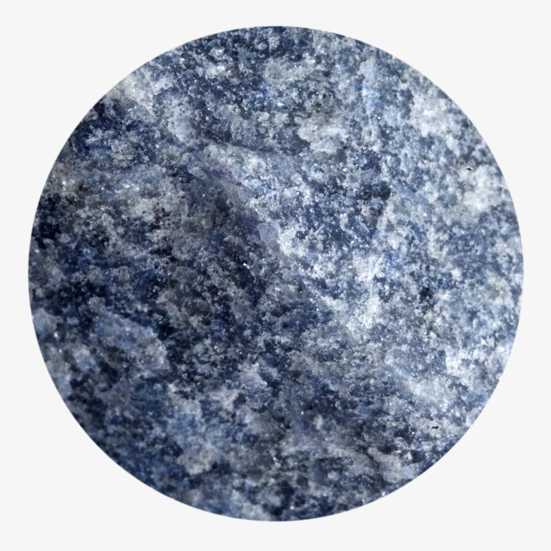 Visuel 02 de la collection Quartz bleu
