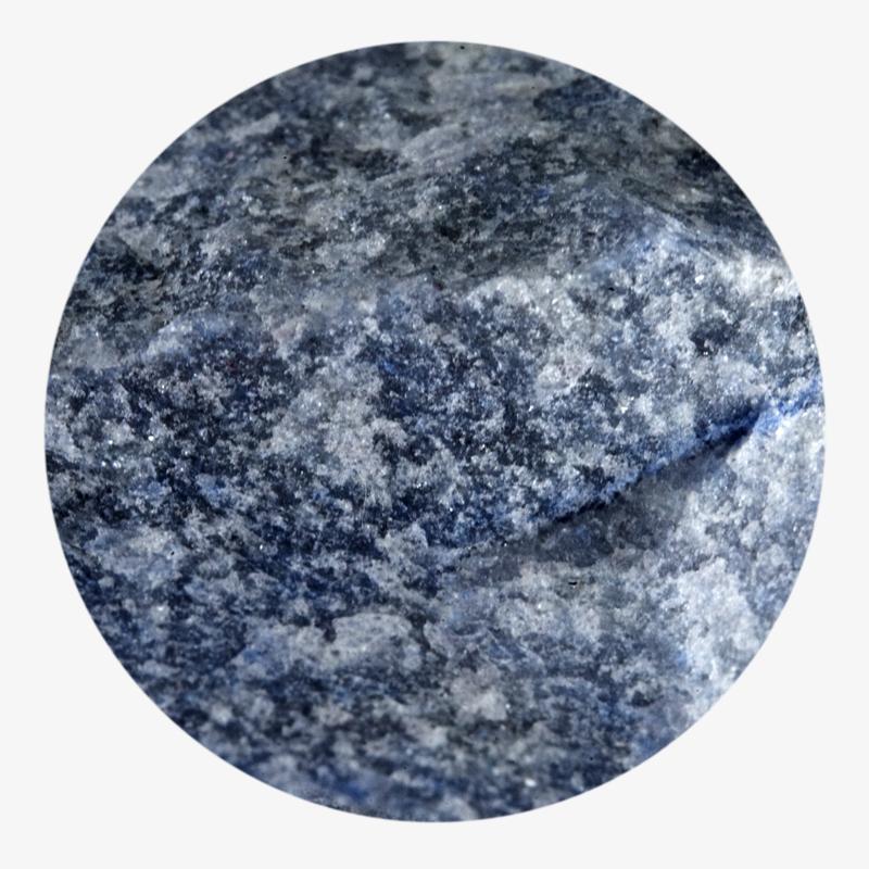 Visuel 03 de la collection Quartz bleu