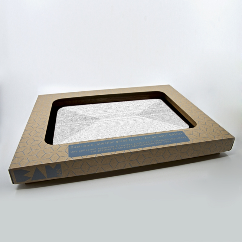 official packaging service tray