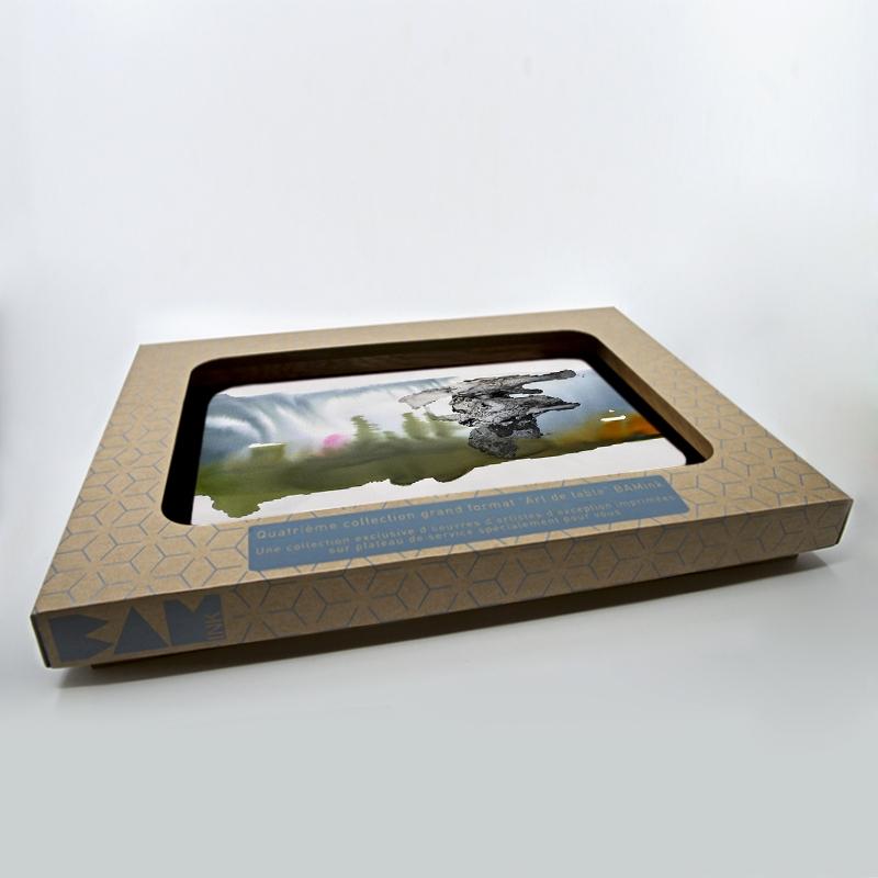 packaging officiel plateau de service