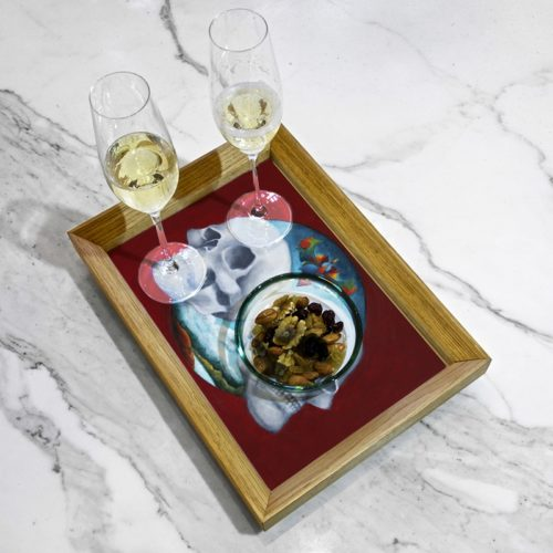 Pauline Dubisy's serving tray