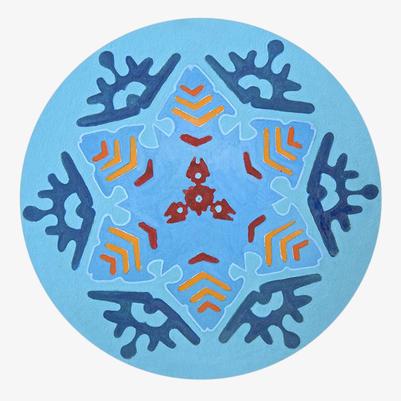 Visuel 03 de la collection Snowflake