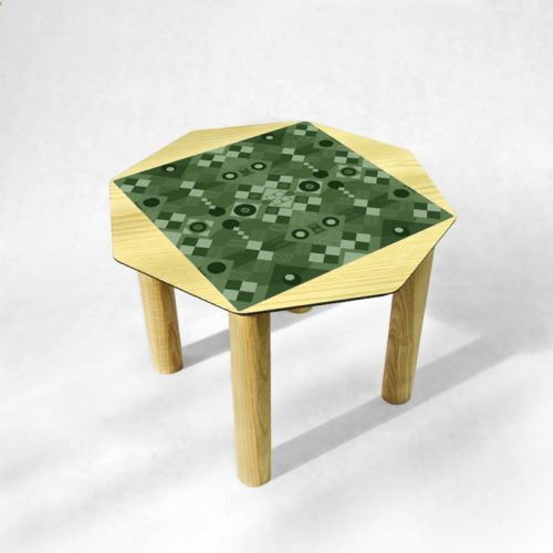 BAMink - table-basse-frêne-Oktō-fond-neutre-Némo Welter-Digital-Green