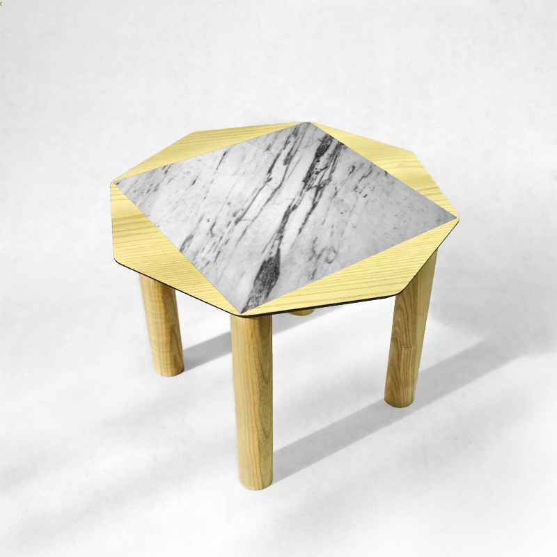 BAMink - ash-coffee-table-Oktō-neutral-background-Némo Welter-Marble-I