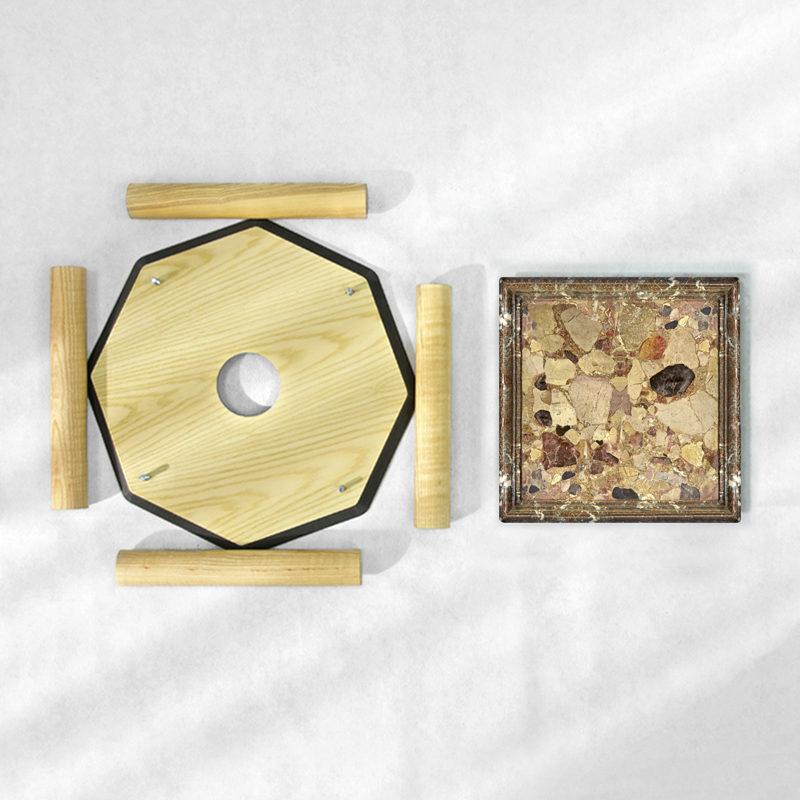 BAMink-table-basse-frêne-Oktō-démonter-Némo Welter-Marbre-II