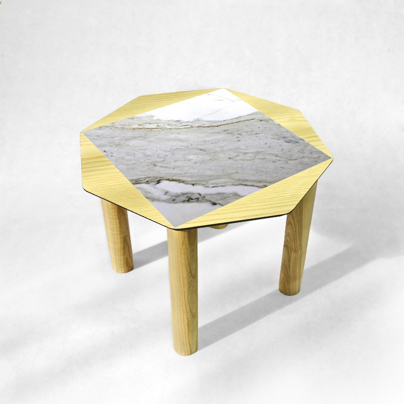BAMink - table-basse-frêne-Oktō-fond-neutre-Némo Welter-Marbre-IV