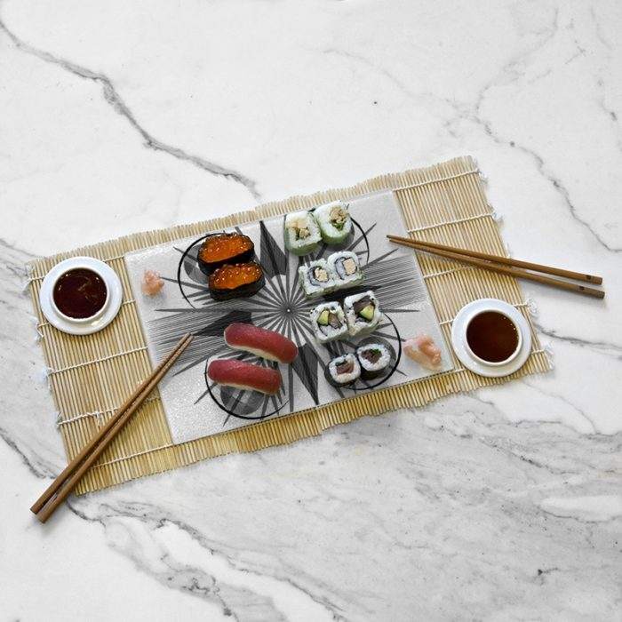 Tasting tray, Geometry collection by Némo Welter