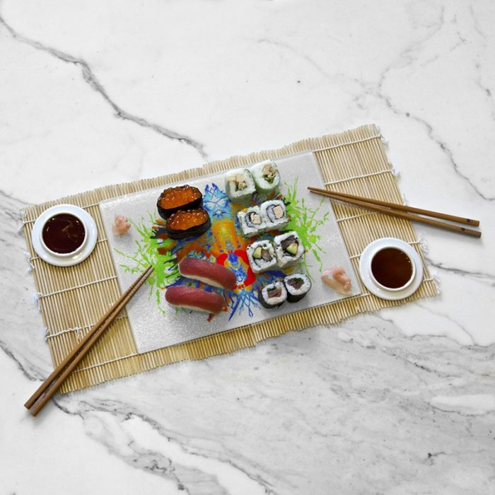 Tasting tray, Rorschach Colorfull collection by Némo Welter
