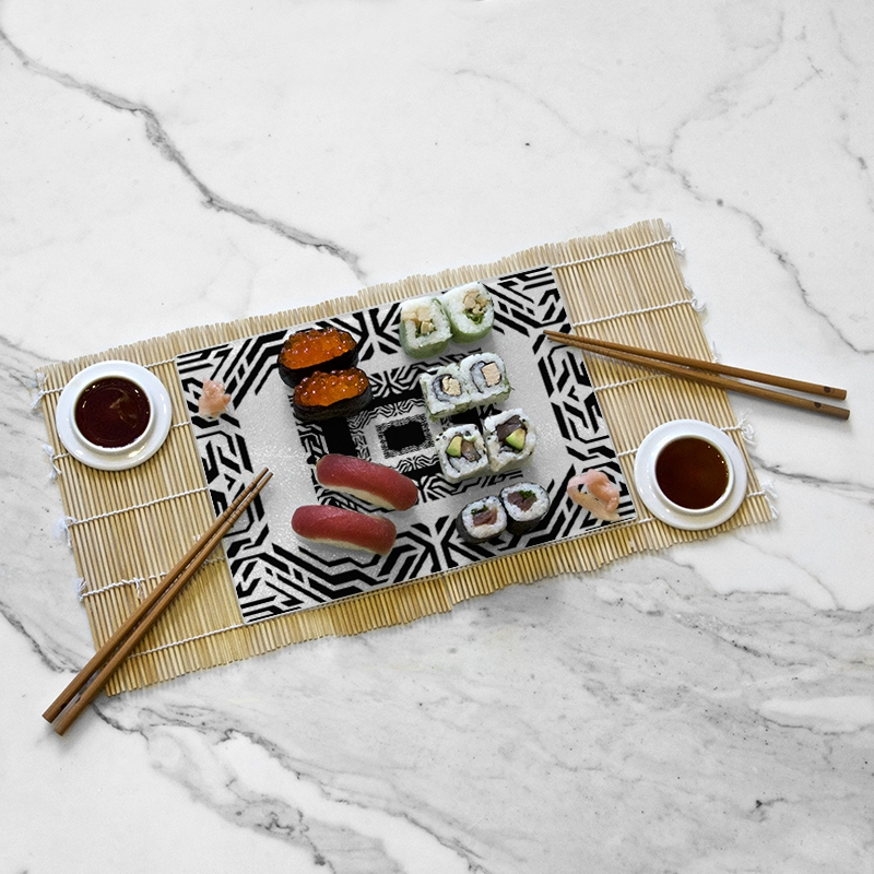 Tasting tray, Yosh's Trippy Square collection