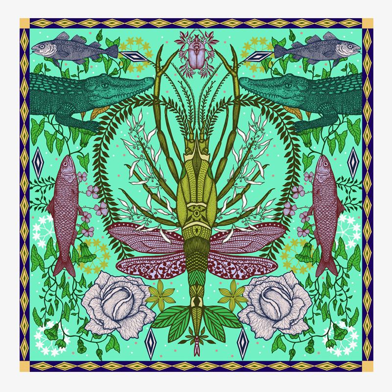 Visual Des pinces et des ailes I