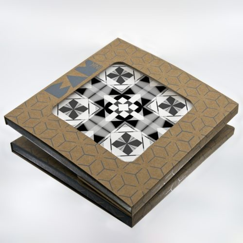 Official BAMink packaging with the Geometric Center II trivet