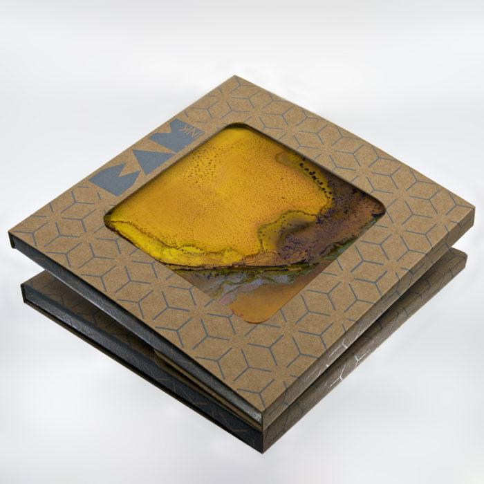 Packaging BAMink officiel avec le sous plat Heating Love (Citrus)