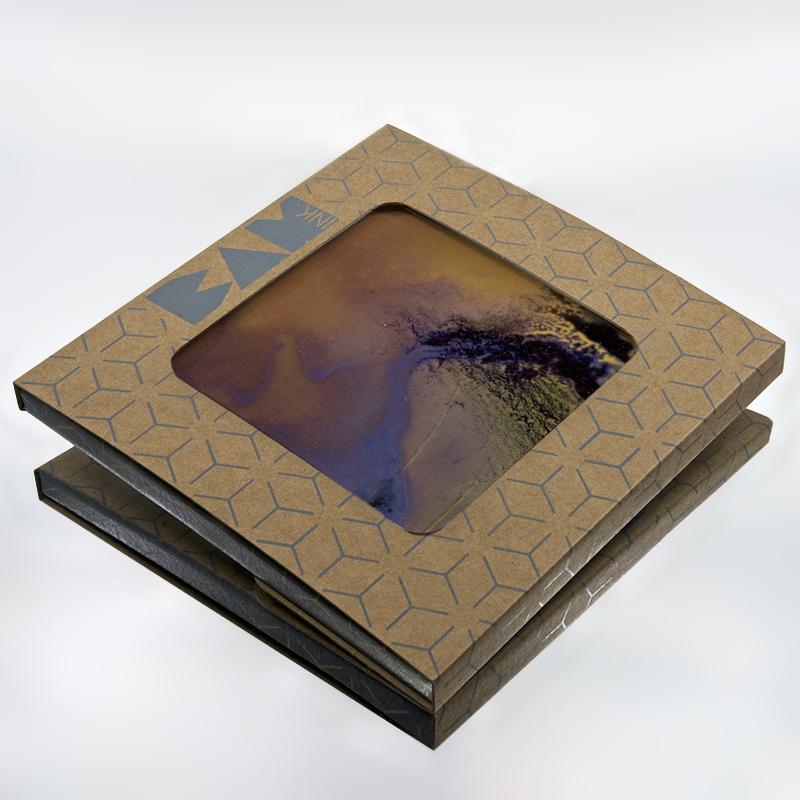 Packaging BAMink officiel avec le sous plat Heating Purple