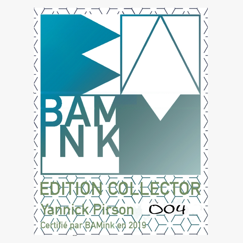 Official BAMink Limited Edition Stickers