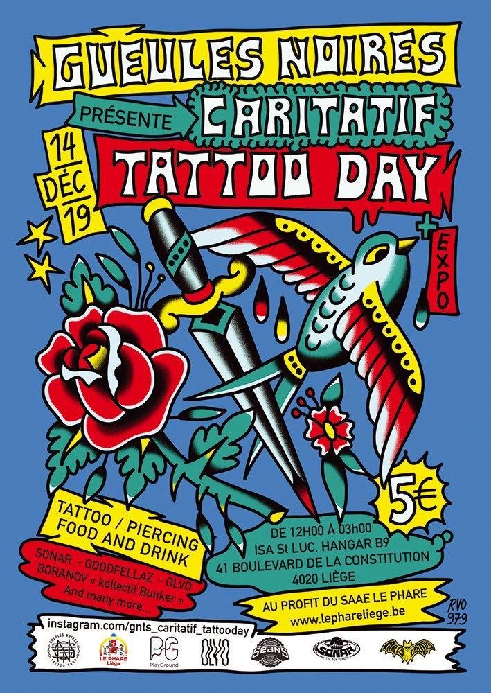 caritatif tattoo day par gueules noires