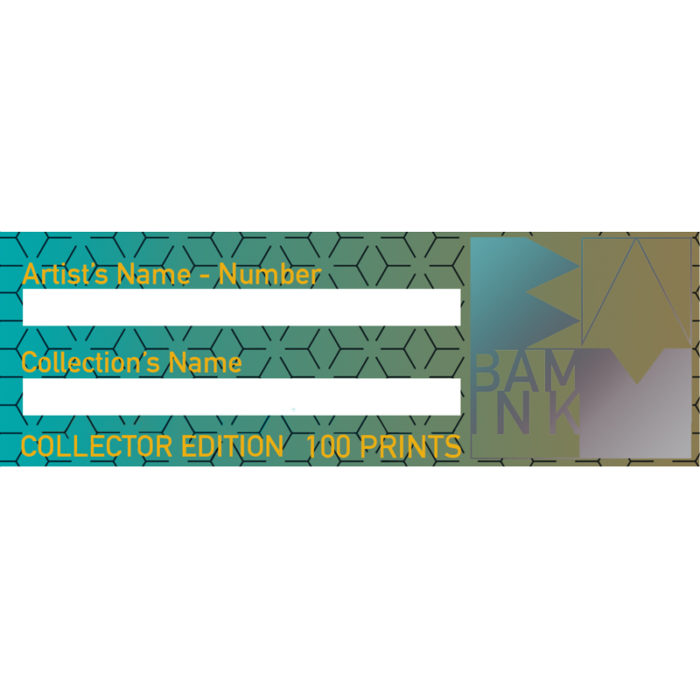 BAMink-plaque-etiquette-edition-limitée-100-Prints