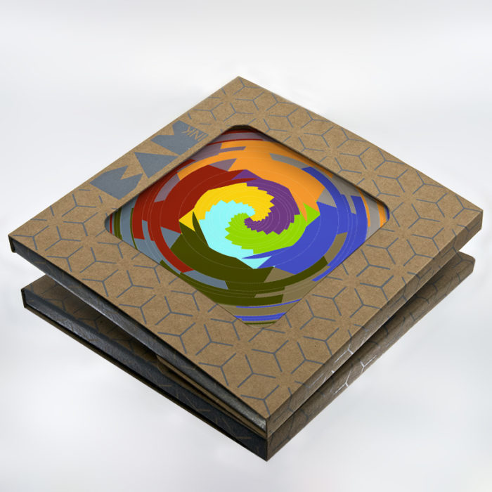 Official BAMink packaging with Color Hole trivet