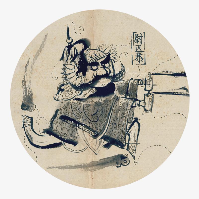 Visual 01 from the Dieu de la porte en Chine collection