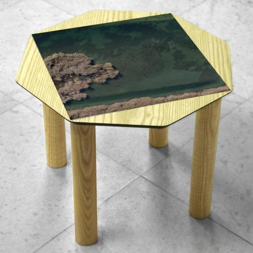 BAMink-coffee-table-ash-Oktō-marble floor-Matthieu Colin-Vallée-de-la-Durance-I